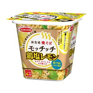 エースコック 鶏塩レモン焼そばモッチッチ 98g×12個入り (1ケース) (KT)