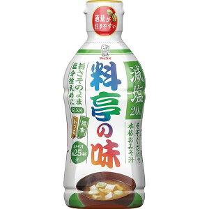 液みそ 料亭の味 減塩 430g 10セット(1ケース)(MS)