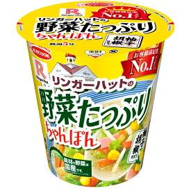 エースコック タテロング リンガーハットの野菜たっぷりちゃんぽん 柚子胡椒仕立て 89g×12個入り (1ケース) (MS)