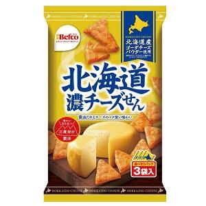 栗山米菓 北海道濃チーズせん 54 g(個包装3袋)×12個入り (1ケース) (MS)