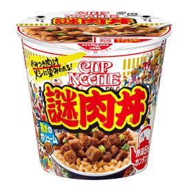日清 カップヌードル 謎肉丼 111g×6個入り (1ケース) (MS)