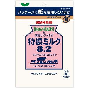 UHA味覚糖 特濃ミルク8.2 85g×72袋入り (1ケース) (YB)