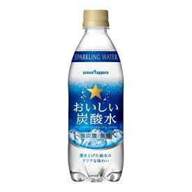おいしい炭酸水(500ml)×24本入り (1ケース) (MS)