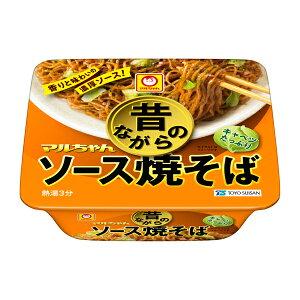 マルちゃん 昔ながらのソース焼そば 132g×12個入り (1ケース) (KT)