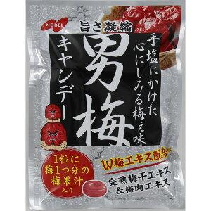 ノーベル 男梅 80g×6袋入り×2箱 (計12個) (YB)