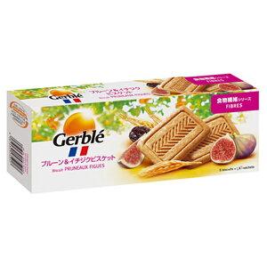 Gerble(ジェルブレ) ファイバープルーン&イチジクビスケット 270g 12個入り×1ケース