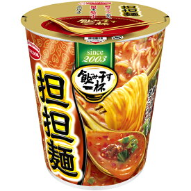 エースコック タテ型飲み干す一杯 担担麺 76g×12個入り (1ケース) (KK)