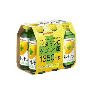 キレートレモン 155ml (6本/パック) ×4パック (計24本) (ポッカサッポロ)KK