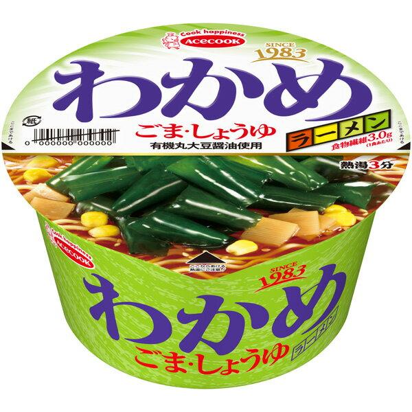 エースコック わかめラーメン ごま・しょうゆ 12個入り(1ケース)(KK)