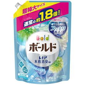P&G ボールド アクアピュアクリーンの香り 詰替超特大1260G PP