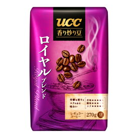 UCC 香り炒り豆 ロイヤルブレンド AP 270g×12個入り (2ケース) (KT)