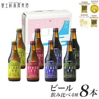 【ビールギフト】【お歳暮】「富士桜高原麦酒4種8本セット」金賞受賞のクラフトビール飲み比べ!【地ビール】【楽ギフ_のし】【楽ギフ_のし宛書】