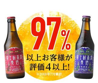 送料無料12本セット「富士桜高原麦酒」定番ビール(ピルス、ヴァイツェン、ラオホ、シュヴァルツヴァイツェン)