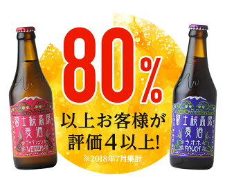 「富士桜高原麦酒」定番ビール(ピルス、ヴァイツェン、ラオホ、シュヴァルツヴァイツェン)