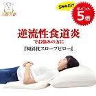 【あす楽】大型傾斜枕 スロープピロー 逆流性食道炎対策