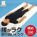 カラー無地 体圧分散マット敷ふとん シングル ぎっくり腰や腰痛の方にもおすすめ 側が洗える 体圧分散マットレス 腰らくらく敷き布団