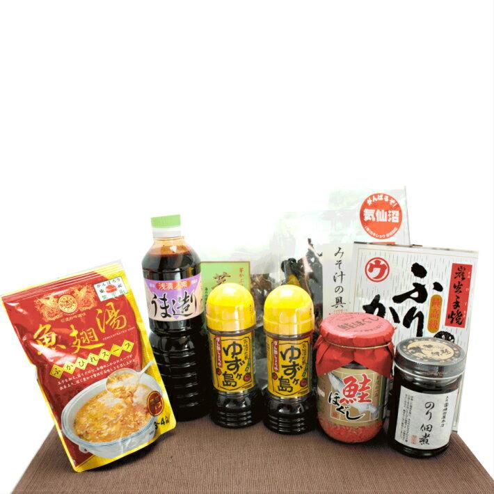 《ギフト》気仙沼復興支援ギフト 27 気仙沼の会社の商品を詰め合わせいたしました。