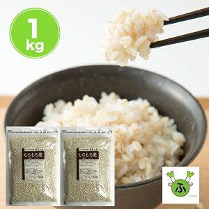まるっともち もち麦 (大麦) 国産 1kg (500g×2袋) 丸麦 まる麦 セール 送料無料