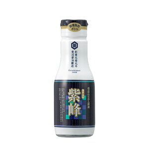 【送料無料】柴沼醤油 紫峰しょうゆ 200ml×8本 鮮度保持ボトル