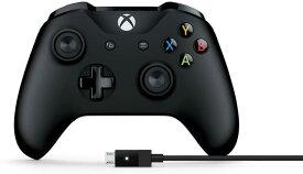 マイクロソフト ゲームコントローラー Bluetooth 有線接続 xbox one Windows対応 PC用USBケーブル同梱 4N6-00003