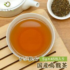 メガ盛り国産烏龍茶福袋(国産ウーロン茶)|ふくちゃのがぶ飲み国産烏龍茶|ティーパック45包|送料無料 在宅