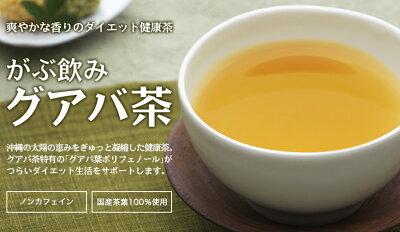 健康的なダイエットにはがぶ飲み国産グアバ茶!