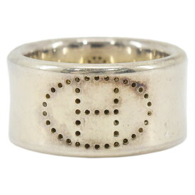 HERMES エルメス 指輪 エクリプス・リュバン リング #54 約14号 SV925×シルバー レディース【中古】【送料無料】