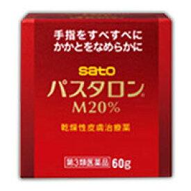 【第3類医薬品】佐藤製薬 パスタロンM20% 60g 4987316061177