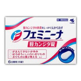 (税制対象)【第1類医薬品】フェミニーナ 腟カンジダ錠 6錠 4987072061879