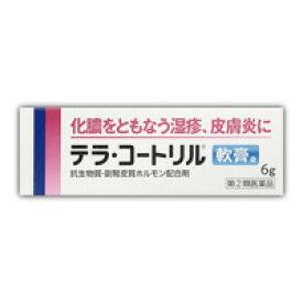 【第(2)類医薬品】 テラ・コートリル軟膏a 6g 4987123701686