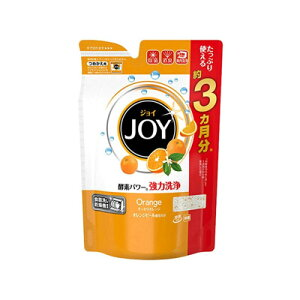 ハイウォッシュ ジョイ 食器洗浄機用 オレンジピール成分入 詰替用 490g 4902430708494