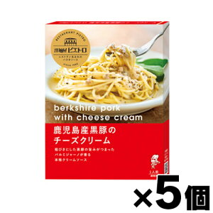 洋麺屋ピエトロ 鹿児島産黒豚のチーズクリーム 110g×5個(※ソースのみ) 4965009006766*5