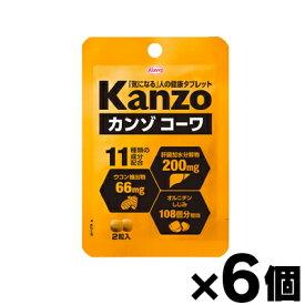【メール便送料無料】興和 カンゾコーワ 2粒×6個セット 【栄養補助食品】 4987067459001