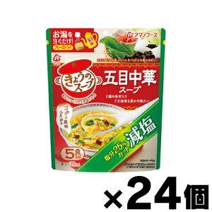 【送料無料!】 アマノフーズ 減塩きょうのスープ 五目中華スープ 5食×24個 4971334208843*24