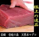 長崎 壱岐 天然 本マグロ 赤身ブロック300g以上・4〜5人前