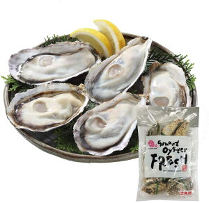 生食 OK 生牡蠣 12個入り スマート オイスター 生かき 刺身 殻付き 冷凍 カンカン 焼き 送料無料 かき