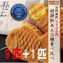 ☆<送料無料>たい焼き3種 X 3匹<金のたい焼き3匹・米粉(つぶあん)たい焼き3匹・粒あんたい焼き3匹で計9匹>(レビュー特典:+こしあん1匹) ※沖縄県・そ...