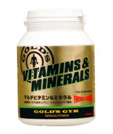 《送料無料》ゴールドジムマルチビタミン&ミネラル180粒×2個セット[サプリメント]GOLD'S GYM