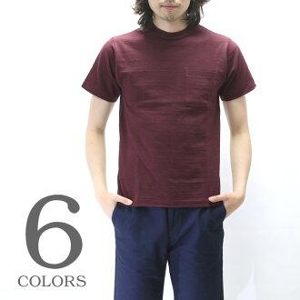 仓储/仓库短袖口袋 T 恤 460110P31Aug14