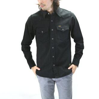 铁的心/铁心黑色盔甲西方衬衫 12 盎司 IHSH 85 黑色牛仔西部 SHIRTS10P31Aug14