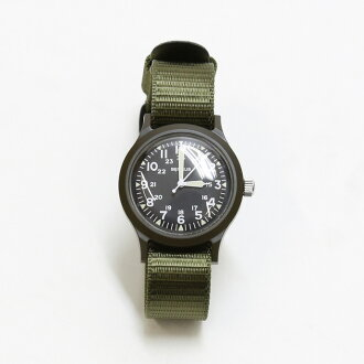 BENRUS and Benrus military watch BR763 olive
