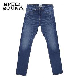 SPELLBOUND スペルバウンド 5Pスキニーフィットジーンズ 43-655D(ブラストウォッシュ)