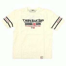KAMINARI カミナリ 半袖Tシャツ 「SHOWA SOUL」 KMT-157