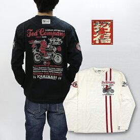 TEDMAN×カミナリ 長袖Tシャツ サンパチ TDKMLT-111