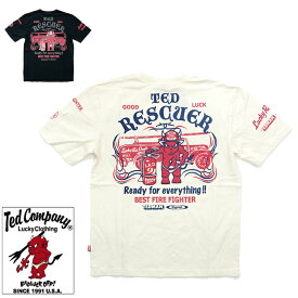 テッドマン 半袖Tシャツ TED RESCUER TDSS-454 TEDMAN