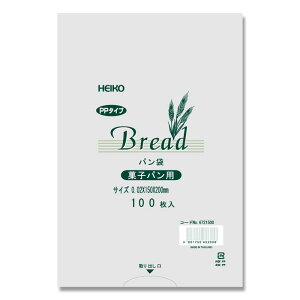 PPパン袋 15-20 菓子パン用0.02x150x200mm 4000枚入