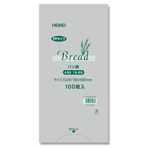 PPパン袋 16-65 フランスパン用0.03x160x650mm 100枚入