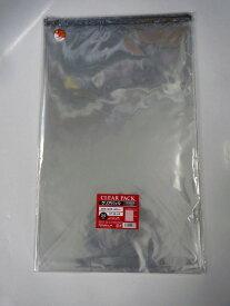 <透明袋>クリアパック(OPP袋)テープ付き38×60 500枚入(50×10p) 30ミクロン PP業務用