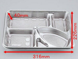 仕出し91-F透明蓋セット【20枚入】【本体:316×226×高さ40mm(蓋10mm)】【エフピコチューパ】【レンジ不可】 仕出し 弁当 容器 パック 使い捨て テイクアウト お持ち帰り 透明蓋