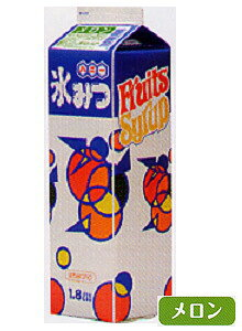 【ハニー】 氷みつ 【メロン】 【 容量1.8L】かき氷 みつ 蜜 シロップ